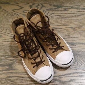 Converse Jack Purcell Leather Hi-tops